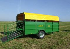 állatszállító pótkocsi